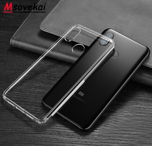 Soft Case For Xiaomi MI 8 8SE Lite Mix2S POCO Phone F1 Redmi6 6A 6 Pro TPU Silicon Transparent Clear Bumper Back Cover