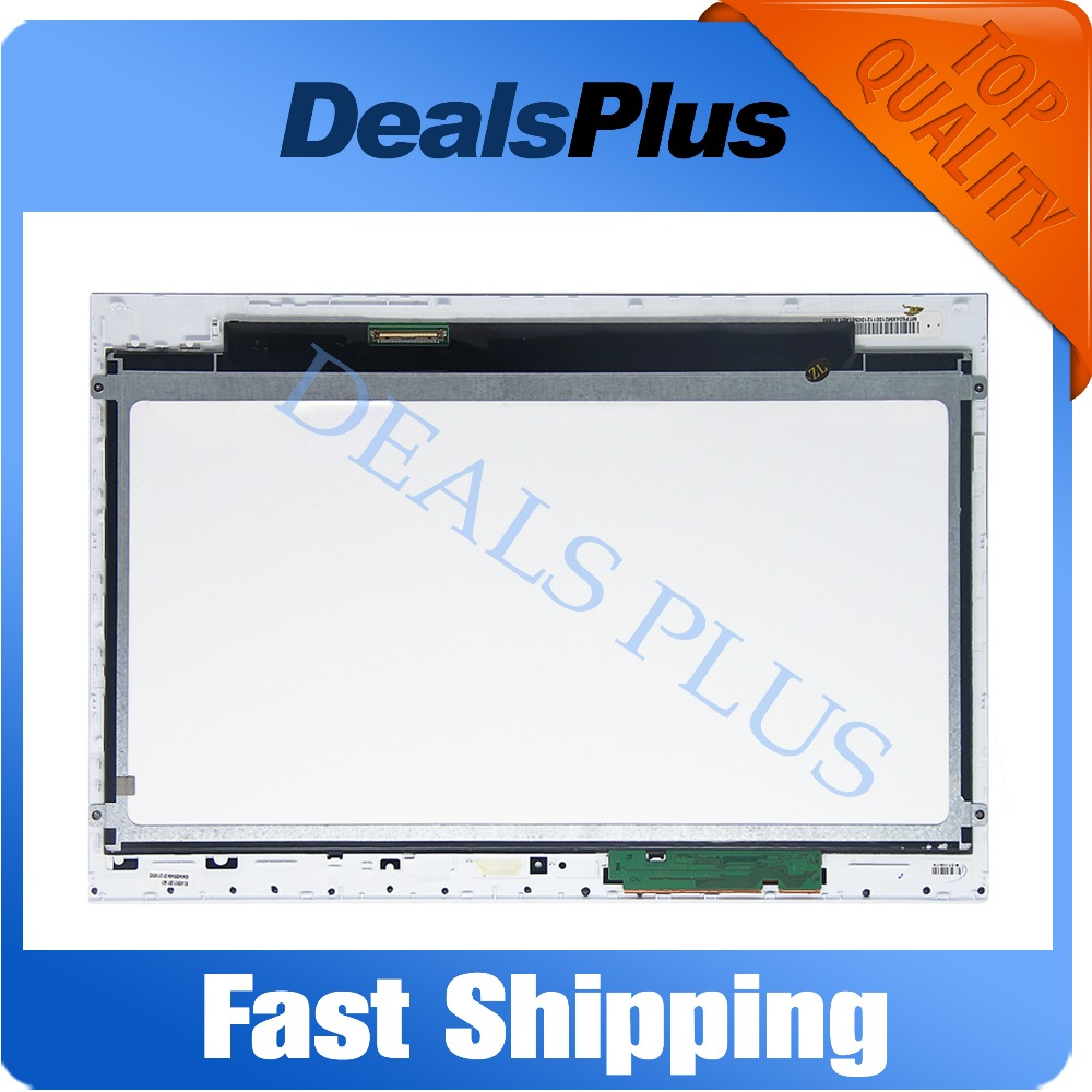 Replacement New LCD Display Touch Screen + Frame Assembly For Sony Vaio SVT131A11L SVT131A11T 13.3-inch Black Free Shipping for sony xperia m c1904 c1905 lcd display with touch screen digitizer frame assembly by free shipping