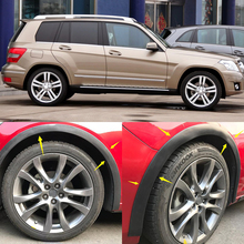 Splash Guards Mud Flap Set OE Styled Car Mud Flaps For Mercedes-Benz GLK Class 2010-2016 Fender 2013 2014 Front Rear 220 250 350