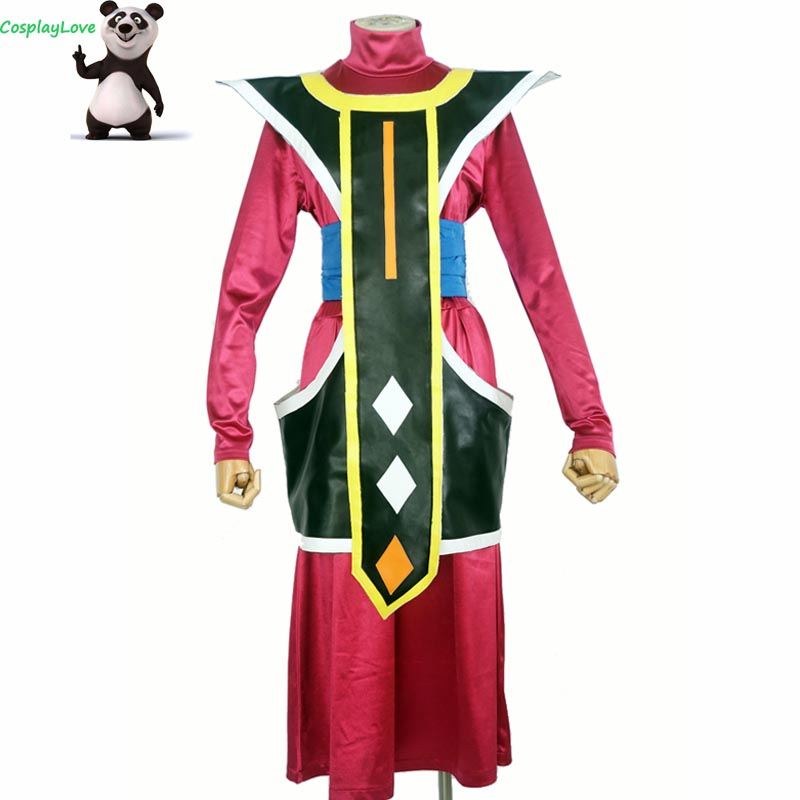Stock Dragon Ball Super: Broly Whis Cosplay Costume pour hommes fête de noël Halloween CosplayLove