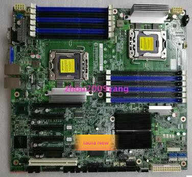 Original for  Dual LGA1366 SATA DDR3 Server System Motherboard S5520HC Integrated Xeon LGA1366 x58 for Intel S5520HC