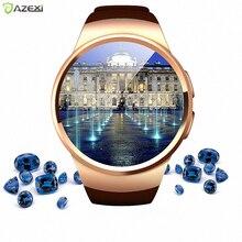 KW18 Pulse Heart Rate Monitor Smart Watch Android IOS Women Men font b Smartwatch b font