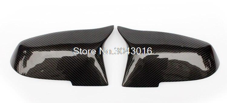 For BMW F30 F32 F33 F20 F22 F23 F36 X1 Mirror M3 M4 Look Rear View Mirror Cover For F20 F30 F22 F36 F23 F87 M2 carbon mirror винт 4 8 m3 20 22 24 27 30 33 36 1