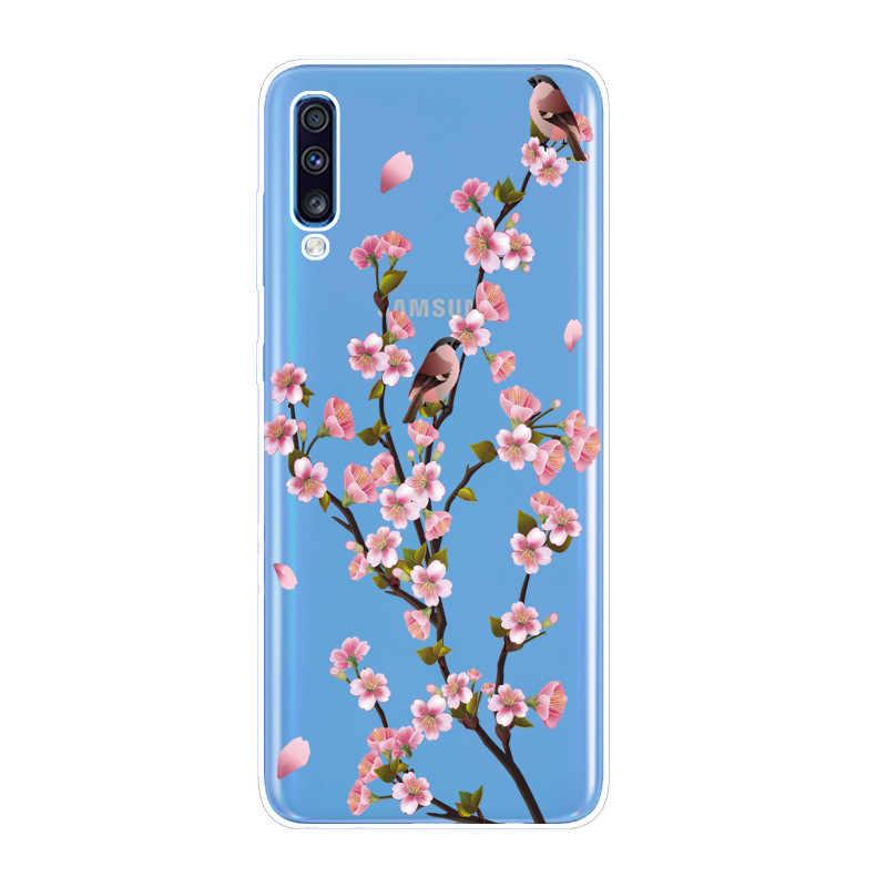 B עבור Samsung A70 2019 מקרה רך סיליקון TPU כריכה אחורית עבור Samsung Galaxy A50 A40 A30 A20 A10 מקרה כיסוי אופן בסיסי לגלקסי A40