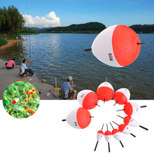 10Pcs Fishing Floats With Sticks Professional Outdoor Sea Float Fishing Accessory