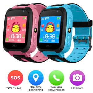 Image 1 - Kids Waterproof Smart Watch Anti lost Safe Positioning Call Smart Band NK Shopping