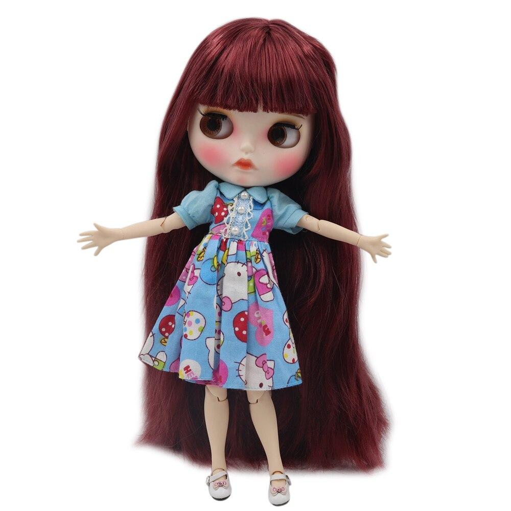 Image 4 - Ледяная фабрика Blyth кукла Обнаженная Нормальная и общая тело мода на заказ кукла подходит diy Макияж с ручной набор A & B Специальная цена-in Куклы from Игрушки и хобби