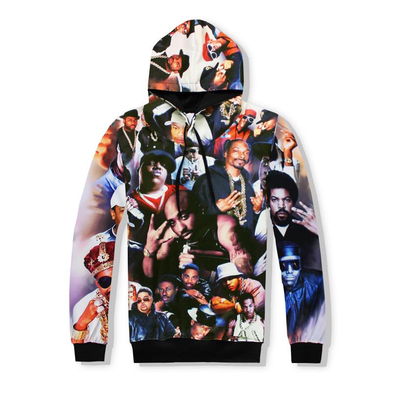 Marca ropa de otoño sudadera hip hop 2pac tupac shakur tupac thug ... 7a3a3c59392