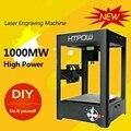 HTPOW Mini DIY Liga 1000 mW SuperCarver Cinzelando a Máquina Impressora A Laser Máquina de Gravura do Laser Cortador de Gravura Do Laser Do Gravador