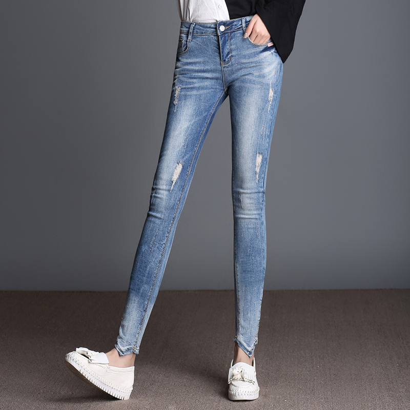 Online Buy Wholesale ankle skinny jeans from China ankle skinny ...