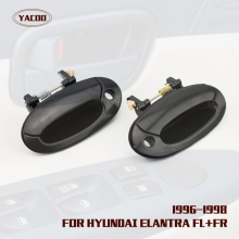 1 PAIR FRONT EXTERIOR DOOR HANDLE  FOR  HYUNDAI ELANTRA 1996-2000