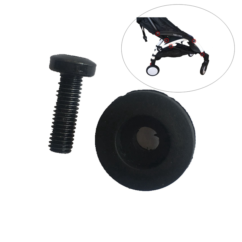 Stroller Replace Part Screw Stem And Plastic Cover Fit For BBZ Yoyo Babyyoya Yoya Babytime Baby Throne Stroller Accessories