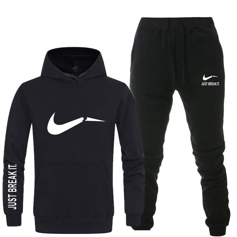 Neue 2018 Marke Trainingsanzug männer thermische unterwäsche Männer Sportswear Sets Fleece Dicken hoodie + Hosen Sporting Anzug Malechandal hombre