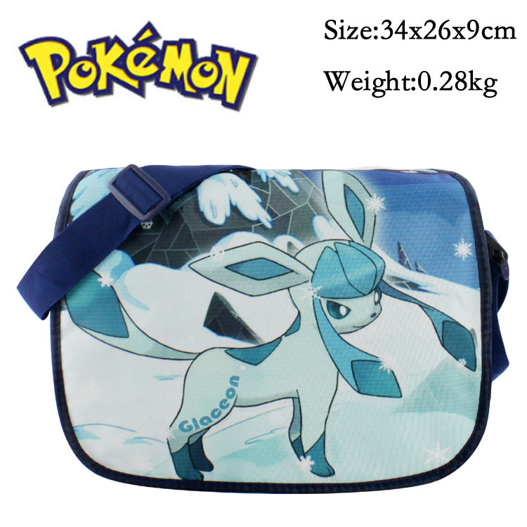 Anime Pokemon Pikachu Messenger Bag Eevee Cosplay Singgle Shoulder Bag Children Plush Backpack Commodities Are Available Without Restriction Costume Props Novelty & Special Use