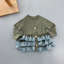 2-8T Every Style Spring&Autumn Baby Girls Outfits Children Ruffle Dress Casual Clothing little girls botique new styles clothes цена