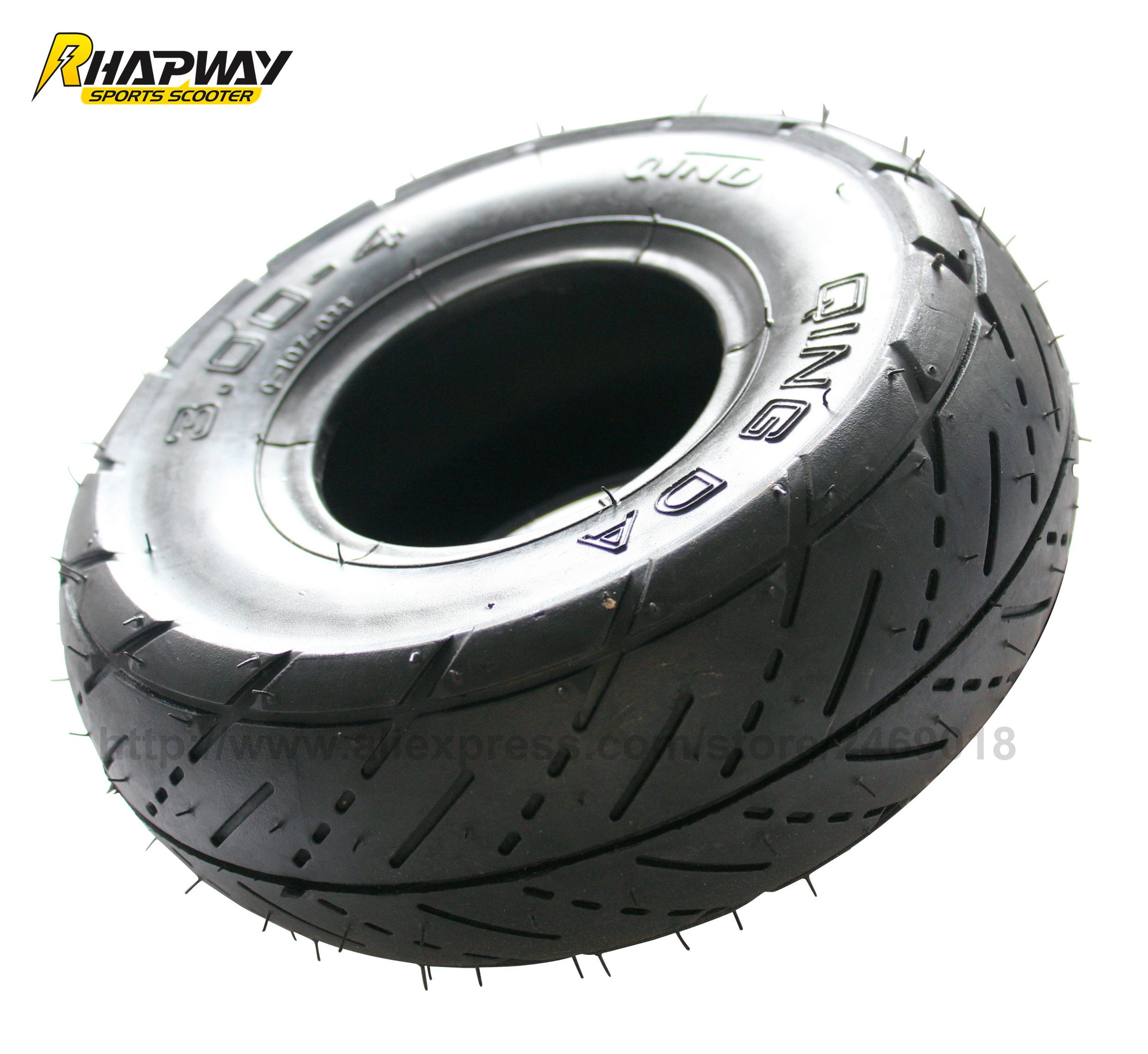Scooter Tires Qingda 4 On Road Cover Tyre Electric
