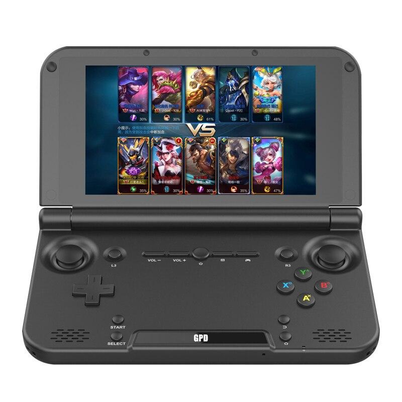 Tamanho portátil gpd xd mais 5 Polegada jogador de jogo gamepad 4 gb/32 gb mtk8176 2.1 ghz handheld game console jogador