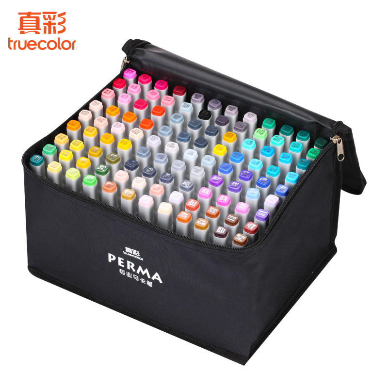 108 Colors Painting Art Marker Pen Alcohol Marker Pen Cartoon Graffiti Double Headed Sketch Art Markers Set 36 48 60 72 marker colors set double headed marker pen paint art sketch darwing copic marker pens in high quality