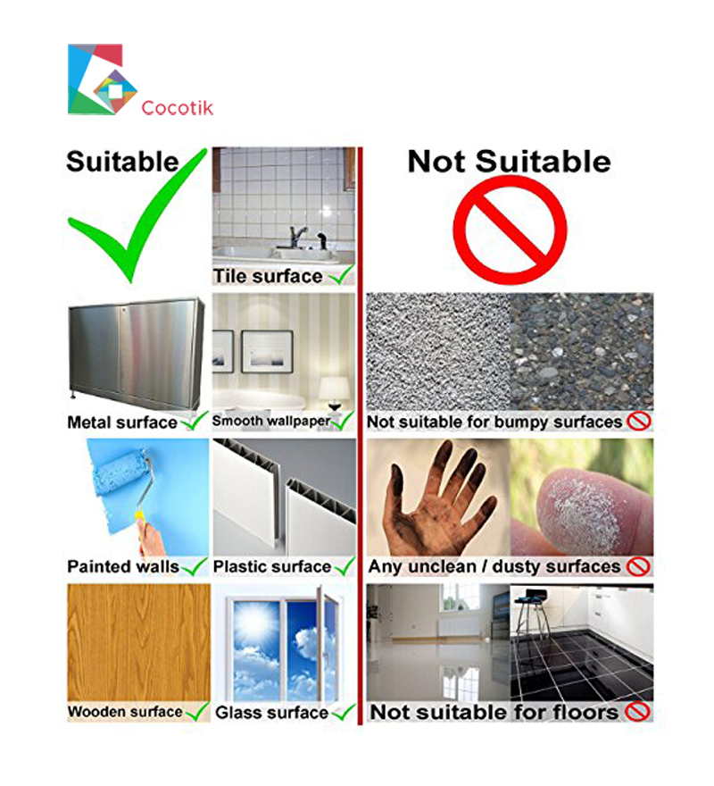 Cocotik 10 5 39 39 x10 39 39 Colorful 3D Self Adhesive Smart Peel and Stick on Wall Sticker Wall Kitchen Vinyl Backsplash Stone Tiles in Wall Stickers from Home amp Garden
