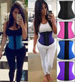 S M L XL 2XL 3XL Latex Rubber Waist Trainer Underbust Cincher Corset Body Shaper Shapewear