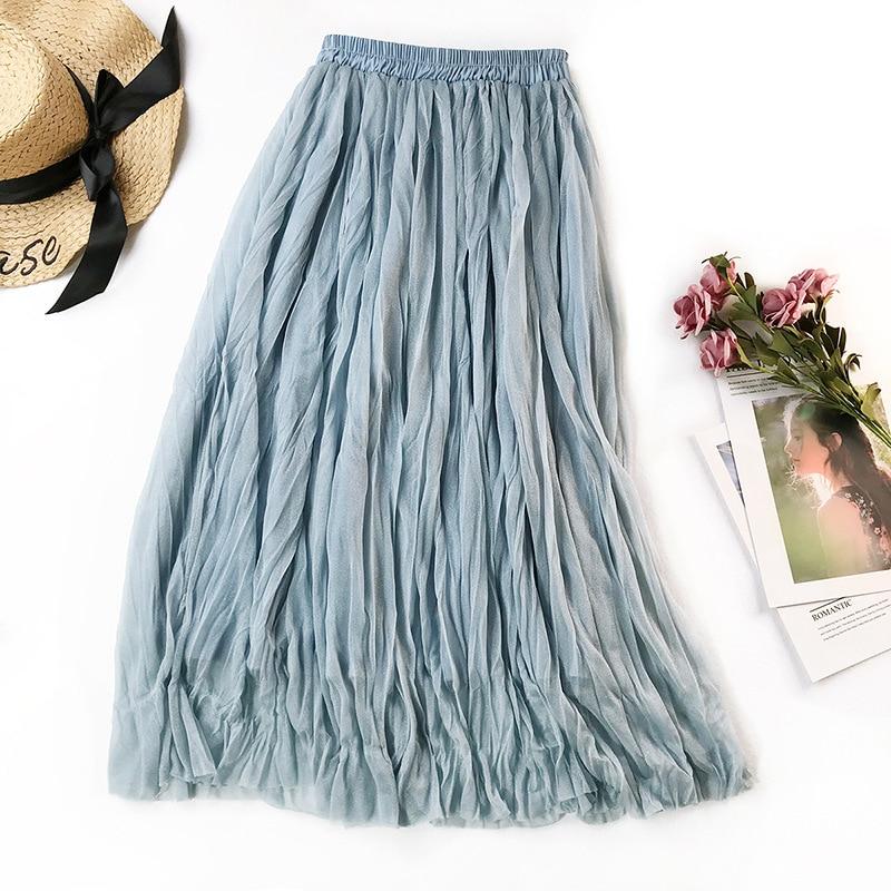 Analytical Revolt Womens 11 Denim Maxi Skirt Patchwork Blue Jean Festival No Slit Modest Women's Clothing Skirts