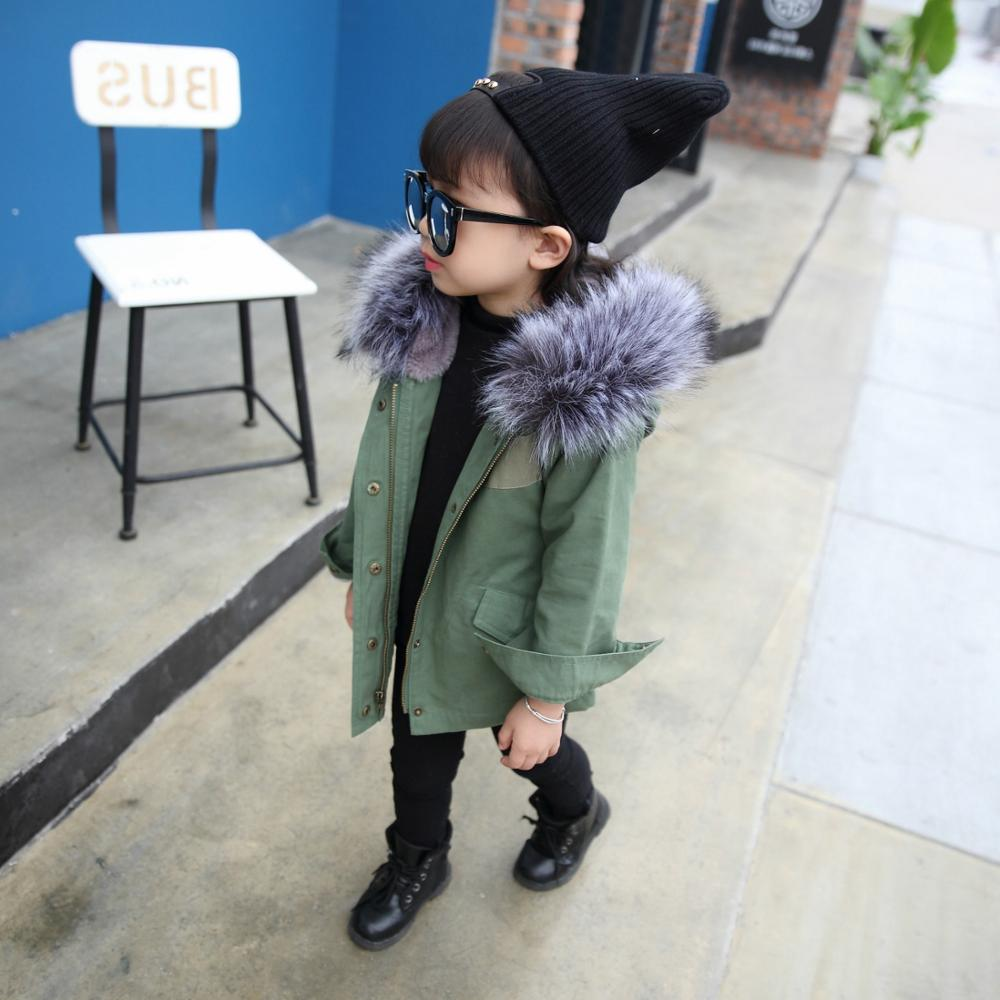 New Winter Children Warm Cotton Coat Suit for Unisex Kids Hooded Fur Collar Zipper Thick Outerwear Baby Boys Girls Parka t omay energy consumption and economic growth evidence from nonlinear panel cointegration and causality tests