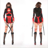 Halloween Cosplay Costumes Ninja Bar Ds Stage Uniform Role Playing Photography Photo Masquerade Parties