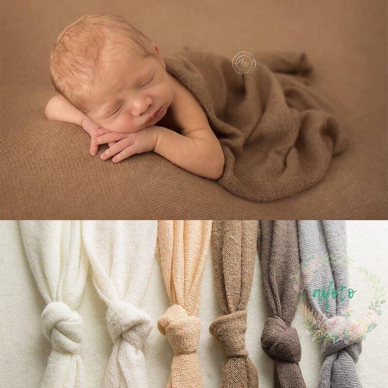 150*160 cm Newborn Photography Crochet Fabric Backdrop Simple Knit Backdrop Newborn Backdrop Posing 200*160 cm Soft Fabrics vinyl backdrop photography lovely painting of wildflowers newborn photography background cm s 110
