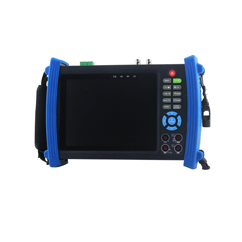7 Inch Touch Screen IPC Camera Tester Built in WiFi & Support ONVIF Camera Test POE Output & Signal Optical & Digital Multimeter