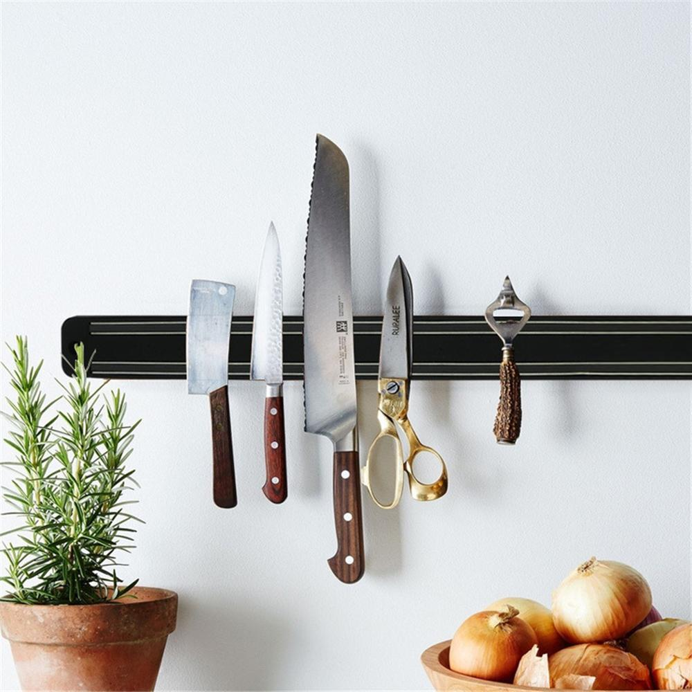 20 Inches Magnetic Knife Wall Mount Knife Holder Knife Rack Strip Kitchenware Organizer For Home & Kitchen