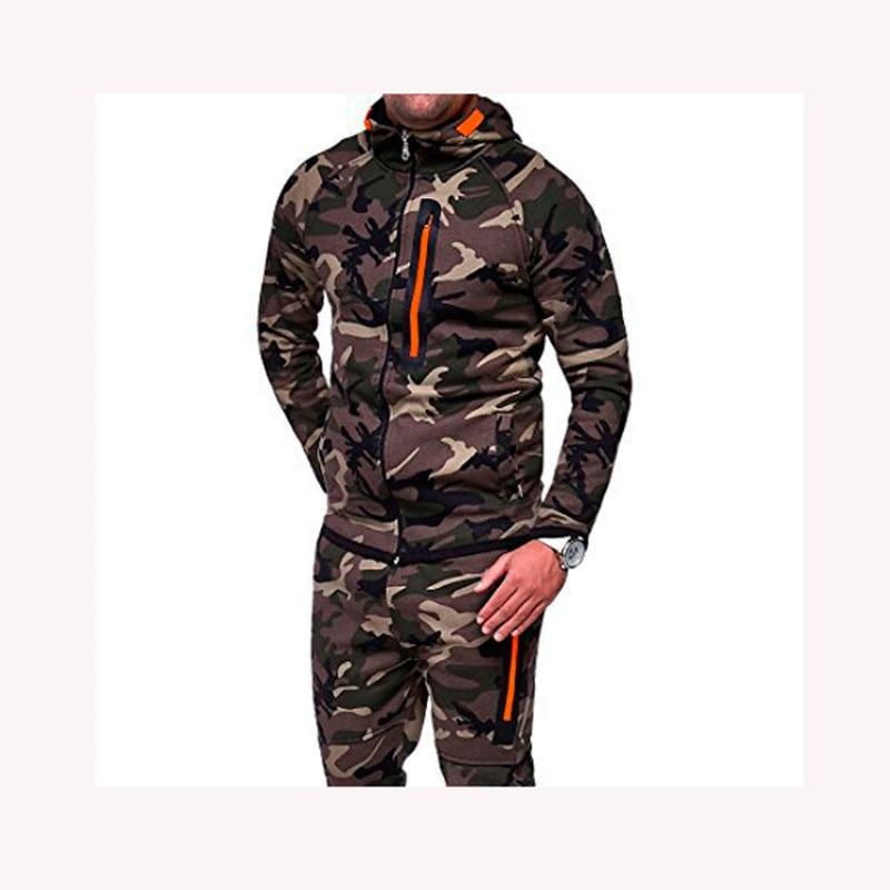New Pattern Man Outdoors Camouflage Clothes Cardigan Loose Coat hoodie sweatshirt hooded zipper sweatshirts for men men's casual