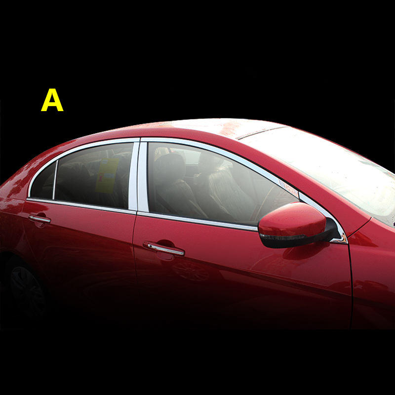 Pour Geely Emgrand 7 EC7 EC715 EC718 Emgrand7 E7, EC7-EV, EV, fenêtre De la Voiture bar lumineux, autocollant de voiture, accessoires de voiture,