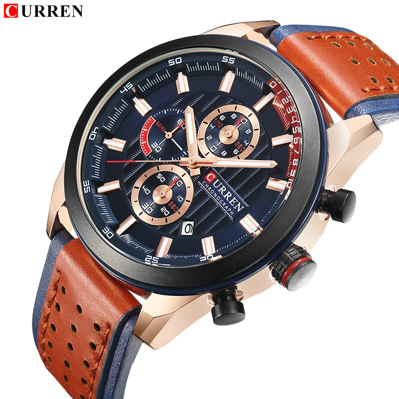 Men Watch Top Luxury Brand New Fashion Casual Sport Wrist Watches Male Leather Waterproof Analog Clock Relogio Masculino GiftMen Watch Top Luxury Brand New Fashion Casual Sport Wrist Watches Male Leather Waterproof Analog Clock Relogio Masculino Gift