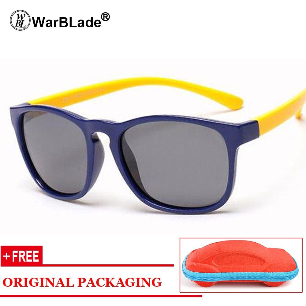 2018 Nuevas gafas de Sol Polarizadas Niños Gafas Flexibles Marco - Accesorios para la ropa - foto 1