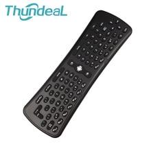 Thundeal 2.4 ГГц Беспроводной 6 оси T6 Android WIFI Проектор Дистанционное управление ПК Умные телевизоры коробка OTG телефон USB DLP проектор Air Мыши