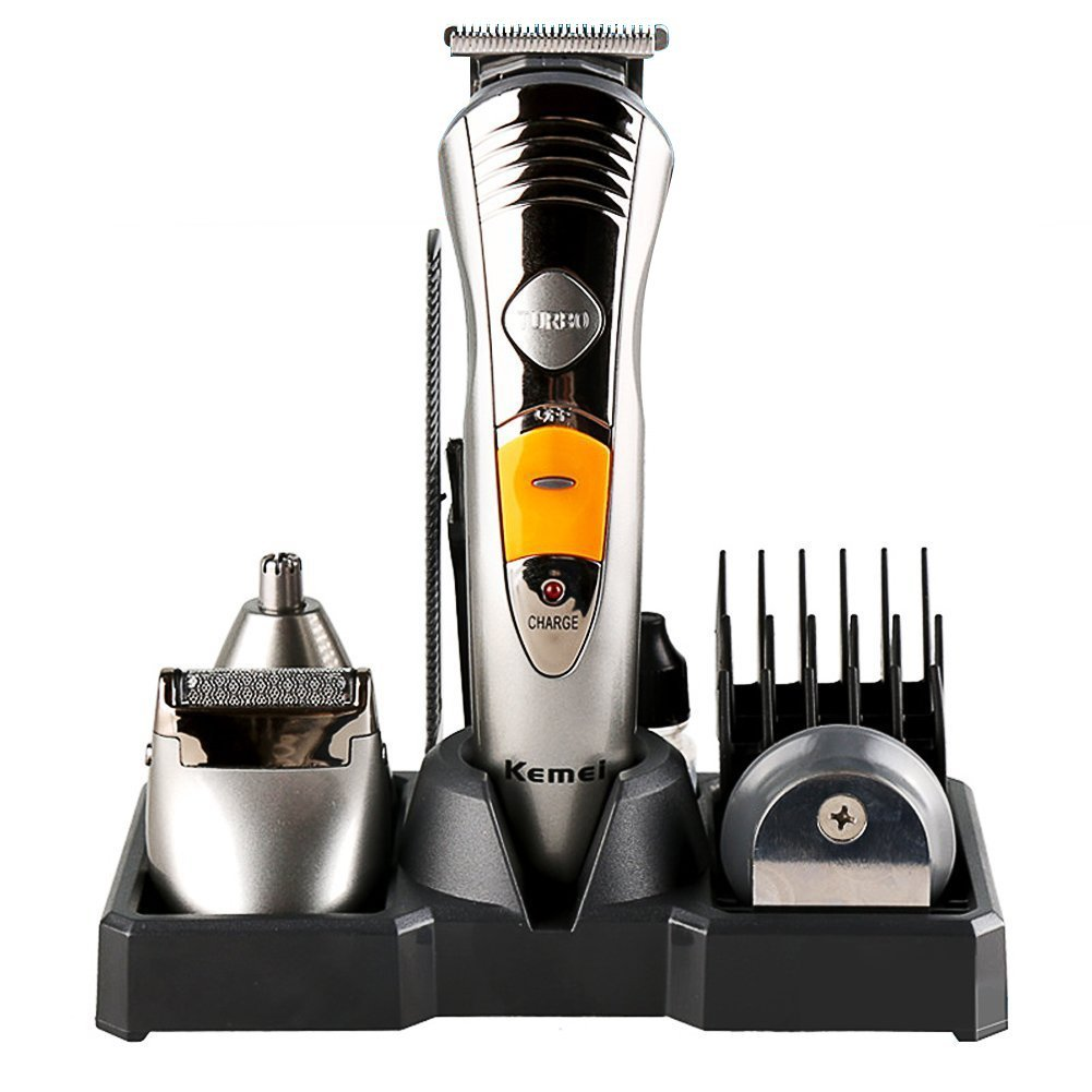 Kemei KM-580A 7in1 Multi-Function Professional Adult Hair Clipper Full-Body Washing Hair Trimmer