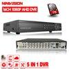 CCTV DVR 16CH Digital Video Recorder AHD 16 Channel AHD H 1080P Hybrid Input Home Security