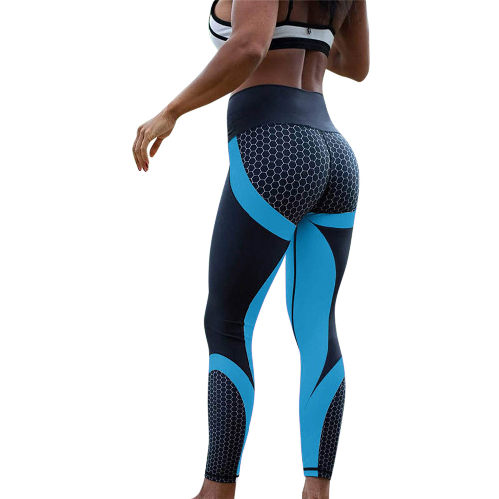2019 new gym clothes for women 3d print yoga skinny