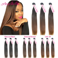 Angelbella Brazilian Virgin Hair 8a Unprocessed Human Hair Bundles Cheap Brazilian Straight Hair 3 Bundle Deals Brazilian