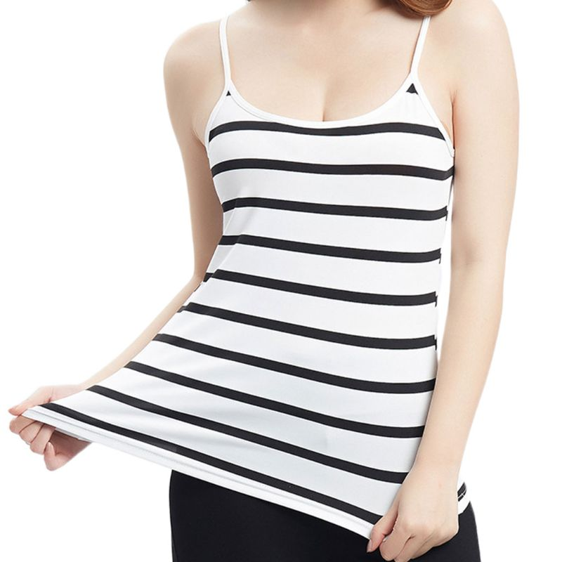 Summer Women Lady Slim Basic Tank Top Spaghetti Strap Casual Camisole Top Blouse