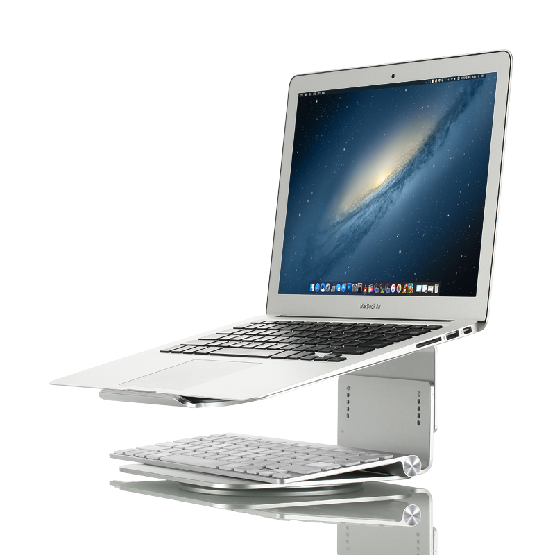 Premium Quality Aluminum for MacBook Height-adjustable laptop stand for MacBook Air/MacBook Pro