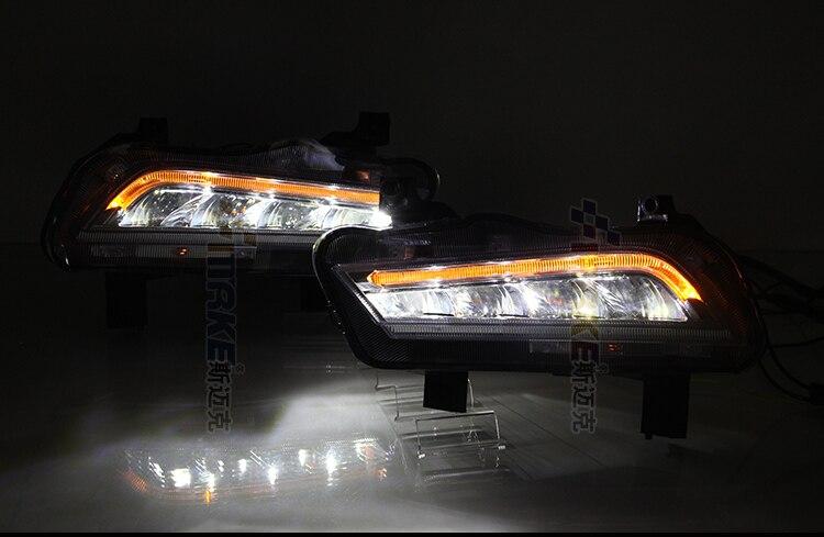 СИД DRL (с функцией переключения) + светодиодные противотуманные фары + LED желтый поворотник для Шевроле Шевроле Круз 2015