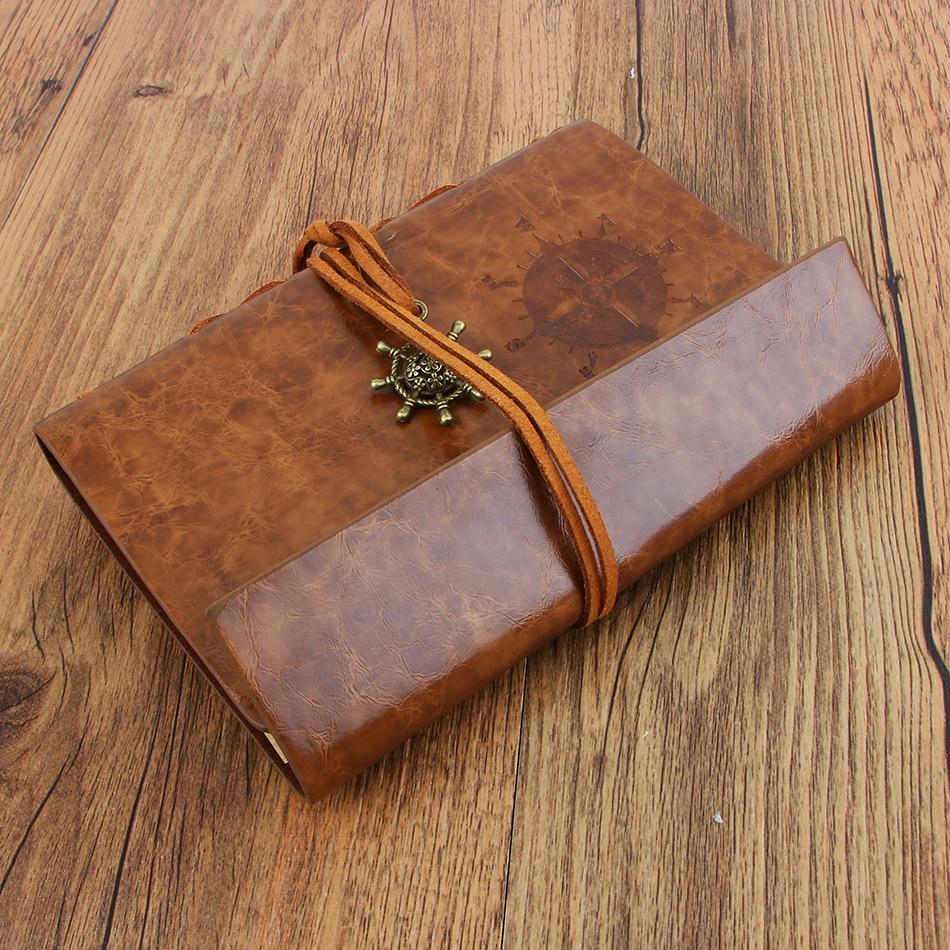 Nový deník kniha Notebook Vintage Pirate Notebook Vyměnitelný - Bloky a záznamní knihy - Fotografie 4