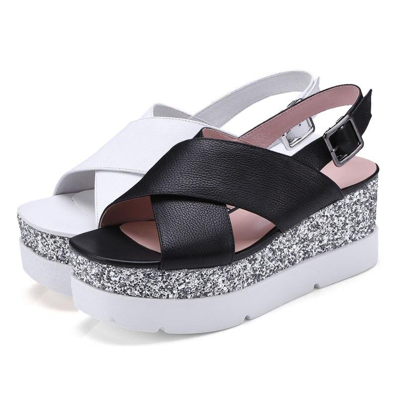 Gladiador Moda white Zapatos Del Sandalias Fanyuan Verano