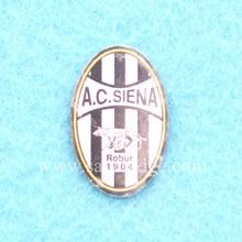 Офсетная печать, нержавеющая сталь, футбольный клуб, булавка, значок, броши на лацкане, 2 шт