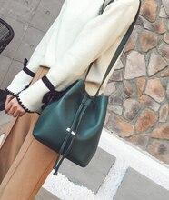 Korean Fashion Retro Casual Bucket Bag