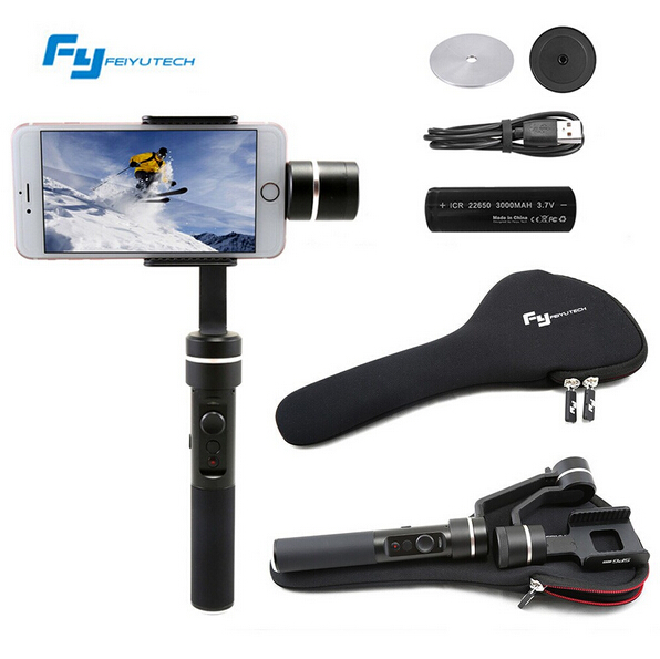 FY Feiyu SPG Live 3 Axis 360 degree Limitless Handheld Gimbal Stabilizer For iPhone 7/6 Plus/6/5s/5c HUAWEI etc F19117