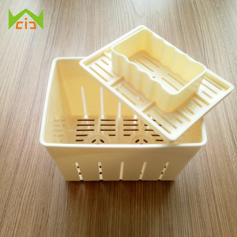 WCIC Eco PP Tofu Press <font><b>Mold</b></font> DIY Homemade Tofu Maker Pressing <font><b>Mold</b></font> Kit <font><b>Cheese</b></font> Cloth Kitchen Tool Tofu <font><b>Molds</b></font> Cooking Tool Set image