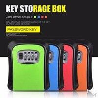 Giantree 4 Digit Password Key Lock Case Safe Box Wall Mounted Lock Box Storage Lock Digit