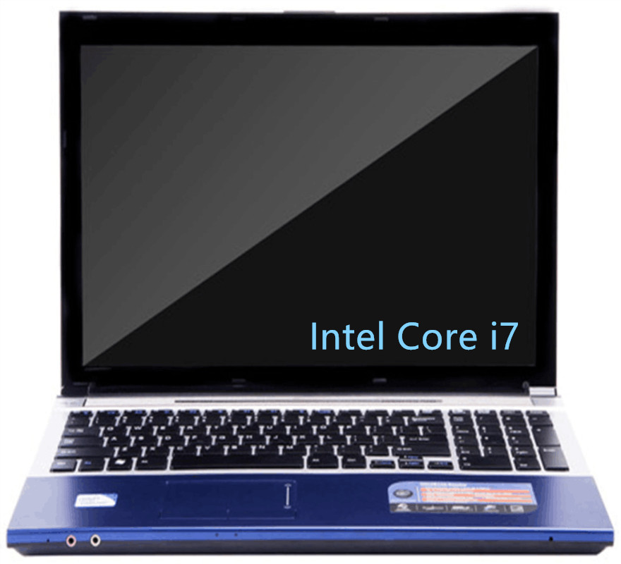 Original DEEQ LAPTOPS 15.6inch 8GB DDR3+120GB SSD+750GB HDD Intel Core I7 CPU Game Laptop Notebook Computer With DVD-RW